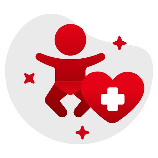 pediatric physiotherapy icon
